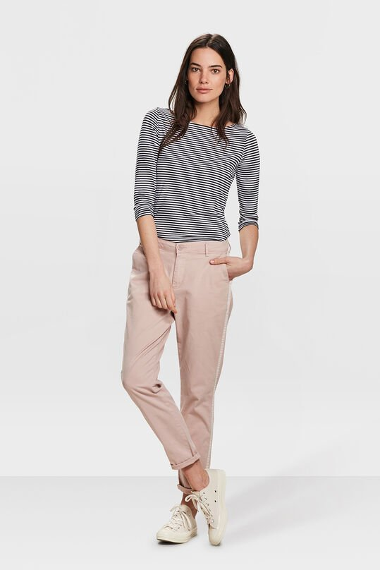 DAMES RELAXED FIT CHINO Zalmroze