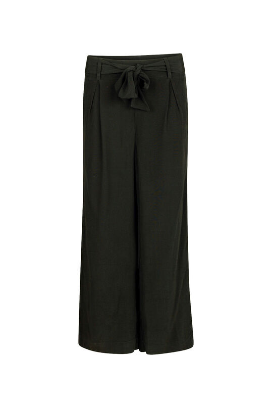 Dames High waist pantalon Zwart