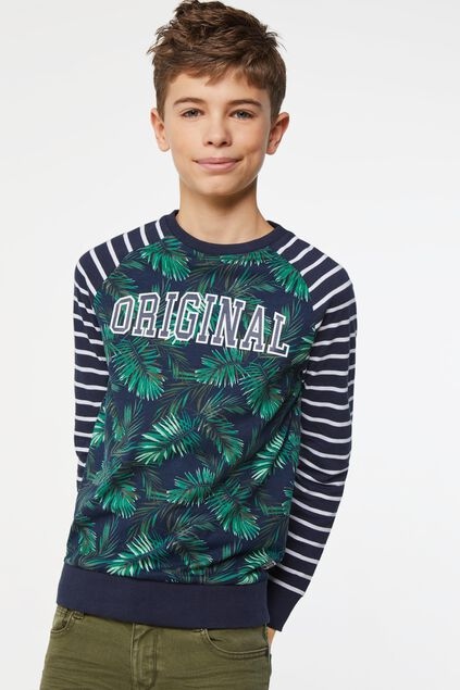 Jongens shirt met dessin All-over print