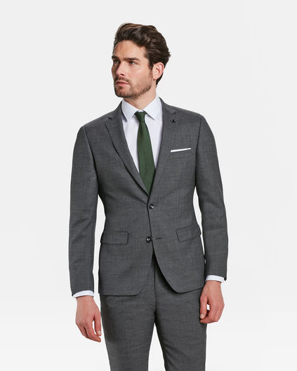 HEREN SLIM FIT BLAZER GAINESVILLE Donkergrijs