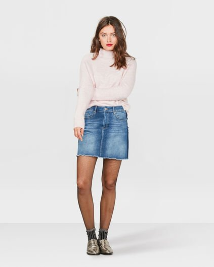 DAMES DENIM ROK Blauw