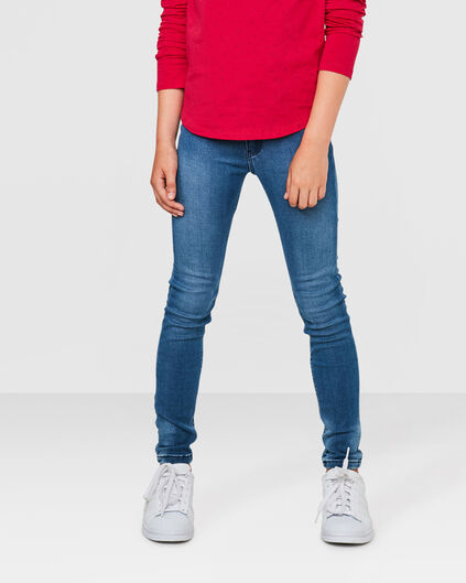 MEISJES SUPER SKINNY POWER STRETCH JEGGING Blauw