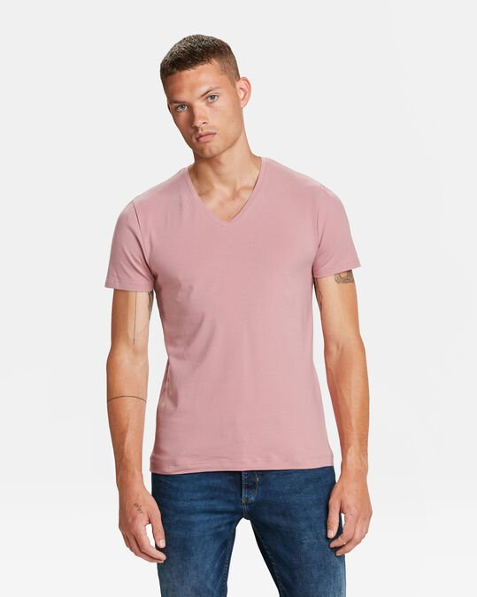 HEREN ORGANIC COTTON T-SHIRT Roze