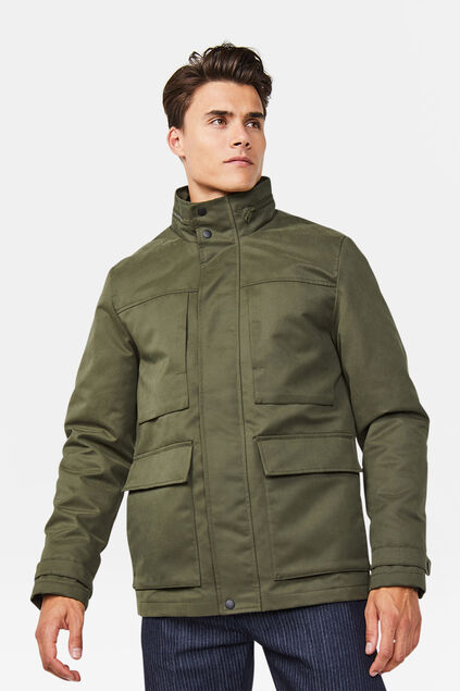 Heren jacket Legergroen