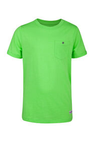 Jongens ONE POCKET T-SHIRT_Jongens ONE POCKET T-SHIRT, Felgroen