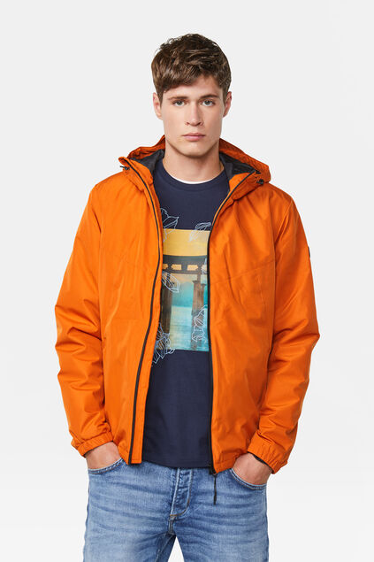 Heren windbreaker jacket Oranje