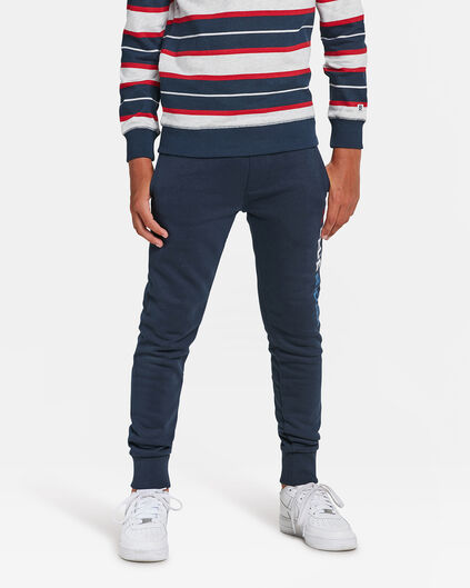 JONGENS BLUE RIDGE SWEATPANTS Marineblauw