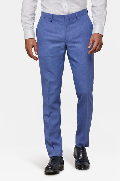 Heren slim fit pantalon Dunes Donkerblauw
