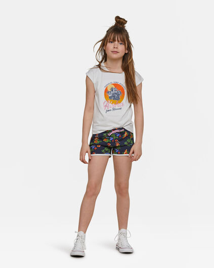 Girls Hawai short Donkerblauw