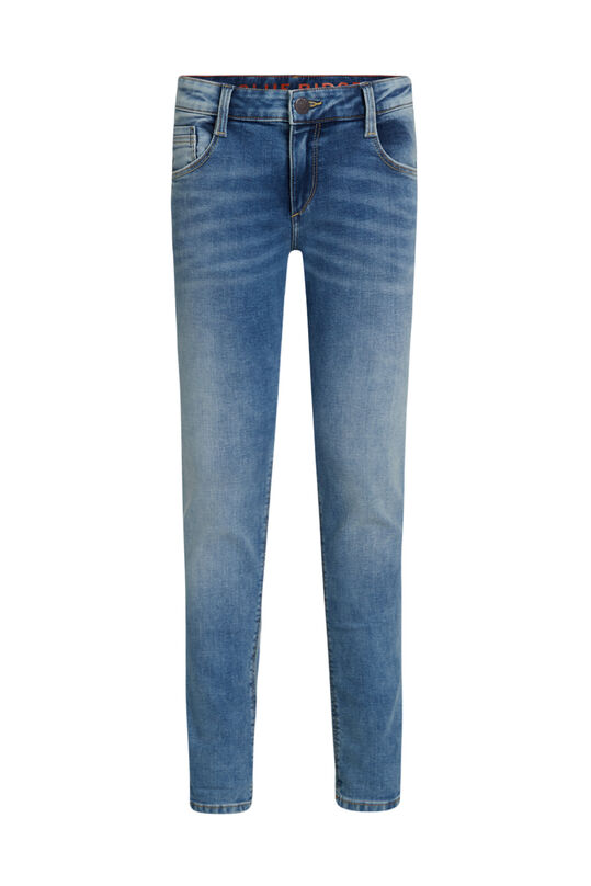 Jongens regular fit jeans van jog denim Blauw