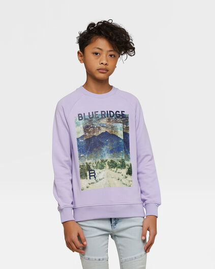Jongens Blue Ridge sweater Lavendel
