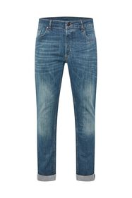 Heren slim fit super stretch jeans_Heren slim fit super stretch jeans, Blauw