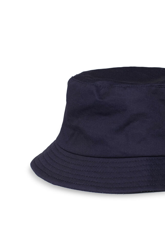 Heren bucket hat Donkerblauw