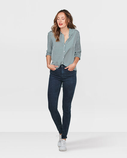DAMES HIGH RISE SKINNY HIGH STRETCH JEANS Indigo