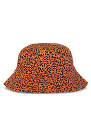 Meisjes reversbile bucket hat met dessin_Meisjes reversbile bucket hat met dessin, All-over print