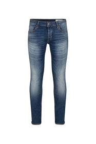 HEREN SLIM TAPERED SUPER STRETCH JEANS_HEREN SLIM TAPERED SUPER STRETCH JEANS, Blauw