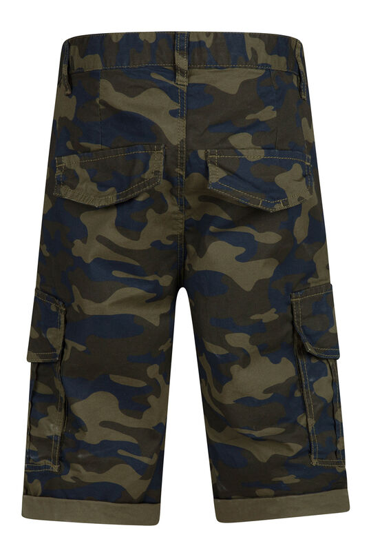 Jongens regular fit short Groen