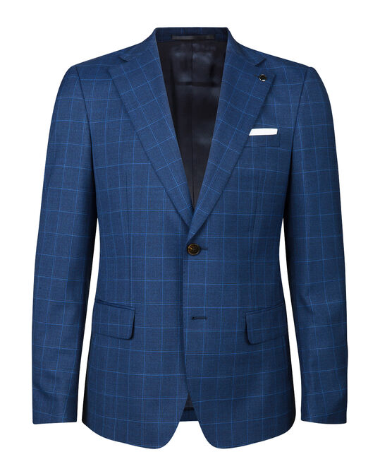 Heren regular fit blazer Condon Donkerblauw