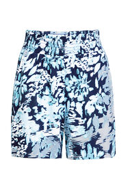 Dames mid waist short met smokwerk_Dames mid waist short met smokwerk, All-over print