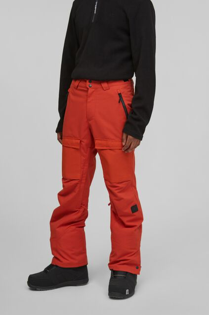 Heren O`Neill Utility Snow Pants Rood