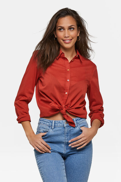 Dames blouse Rood
