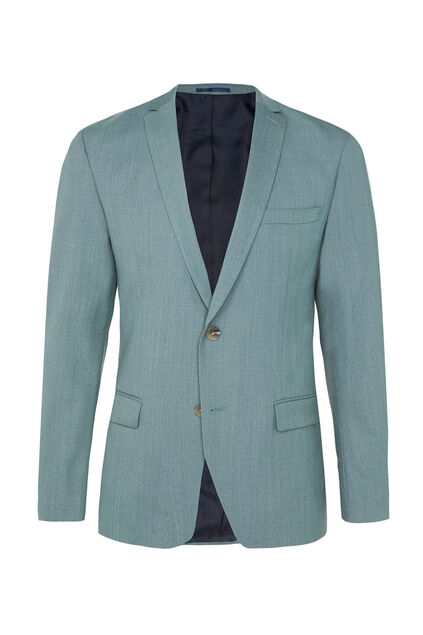 Heren skinny fit blazer Dali met stretch Lichtblauw