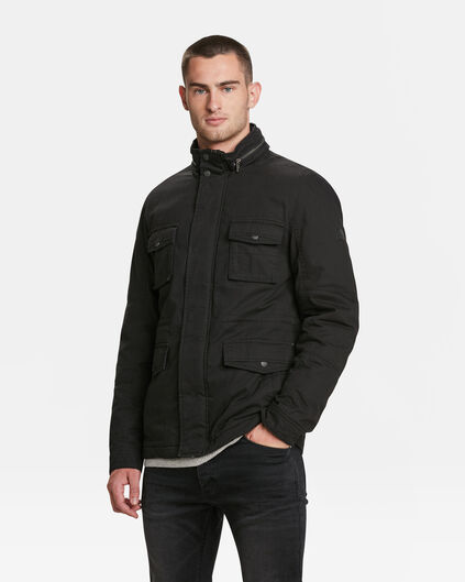 HEREN FIELD JACKET Zwart