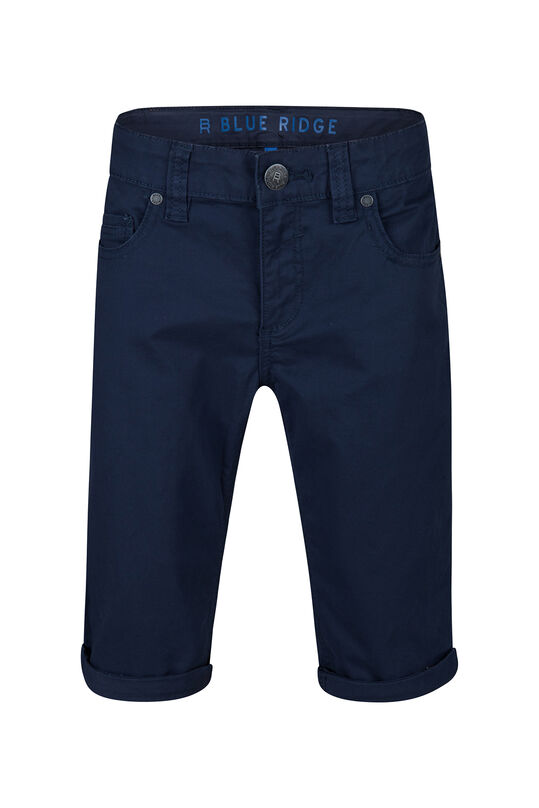 Jongens Slim Fit shorts Donkerblauw