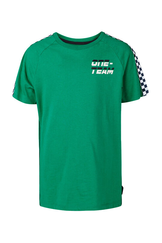 Jongens one team T-shirt Groen