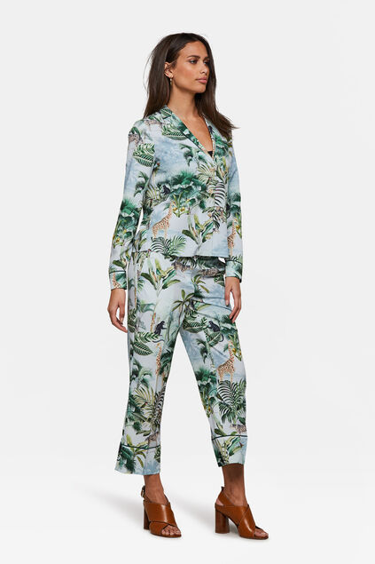 Dames dessin pyjama pantalon All-over print