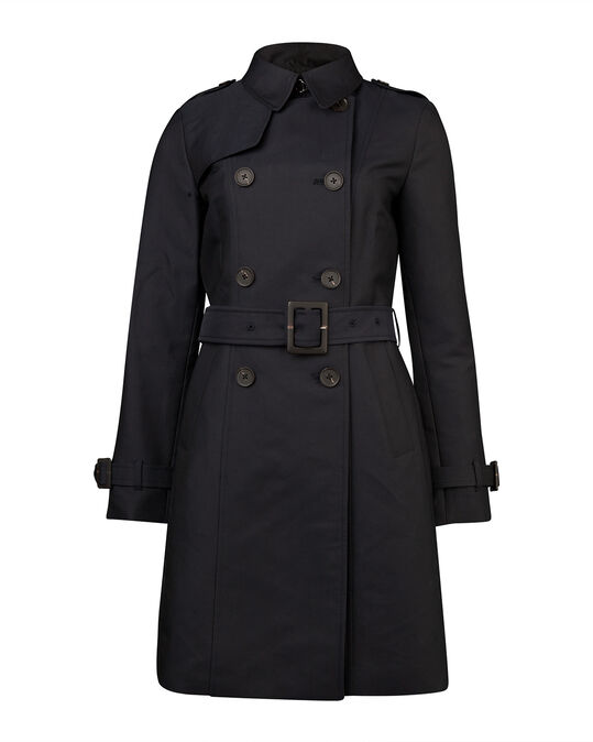DAMES MODERN CLASSIC TRENCHCOAT Donkerblauw