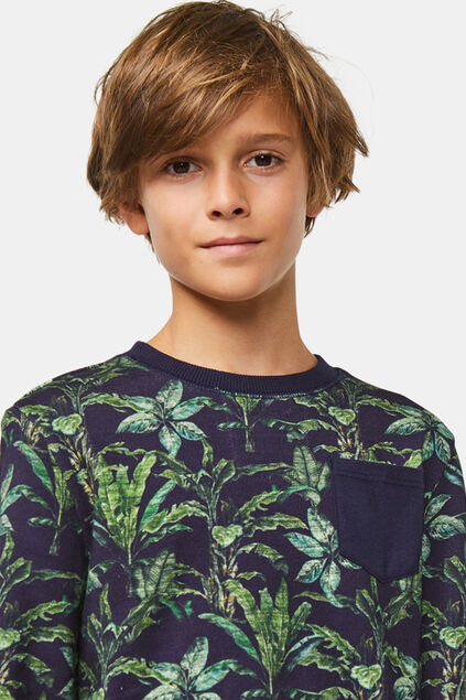Jongens dessin sweater All-over print