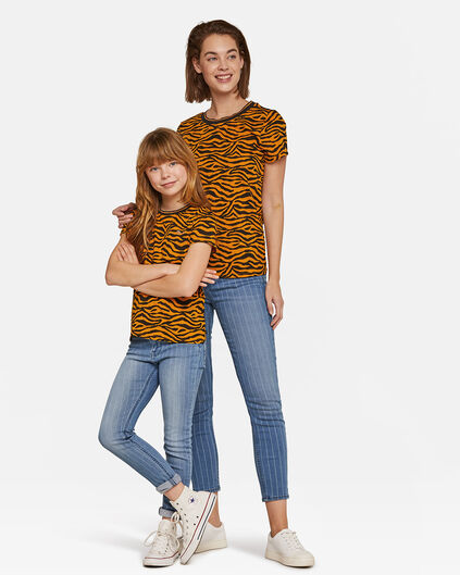 Mini me set: zebraprint T-shirt