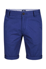 Heren regular fit chino short_Heren regular fit chino short, Blauw
