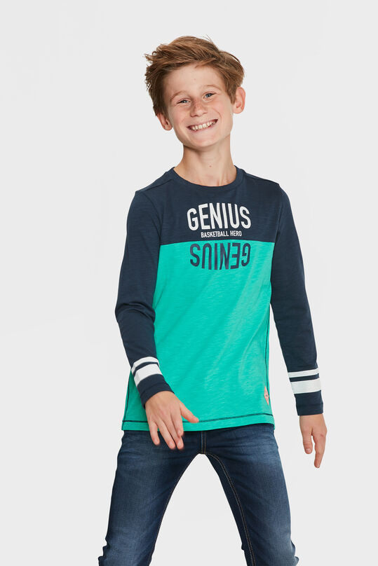 JONGENS BASKETBALL HERO T-SHIRT Groen