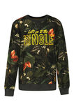 Jongens jungle sweater, Donkergroen