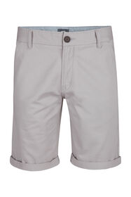Heren regular fit chino short_Heren regular fit chino short, Lichtgrijs