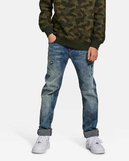 Jongens regular fit jog denim jeans Blauw