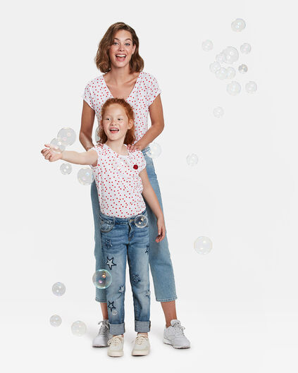 Mini me set Dot T-shirt