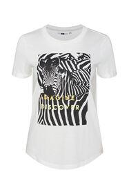 Dames T-shirt met printopdruk_Dames T-shirt met printopdruk, All-over print