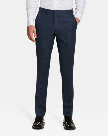 HEREN SLIM FIT PANTALON ALBANY Marineblauw
