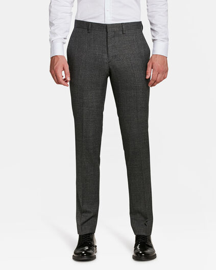 HEREN SLIM FIT PANTALON ATLANTA Donkergrijs