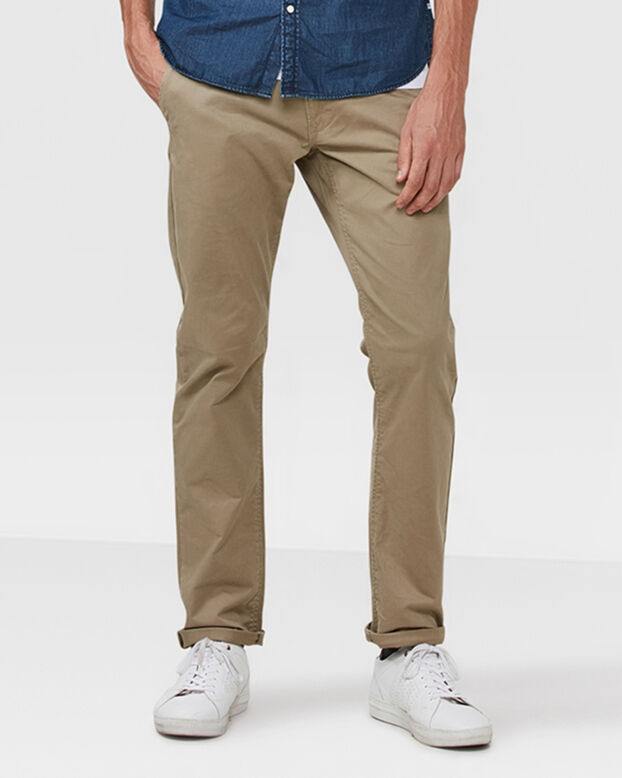 HEREN SLIM FIT CASUAL CHINO Bruin