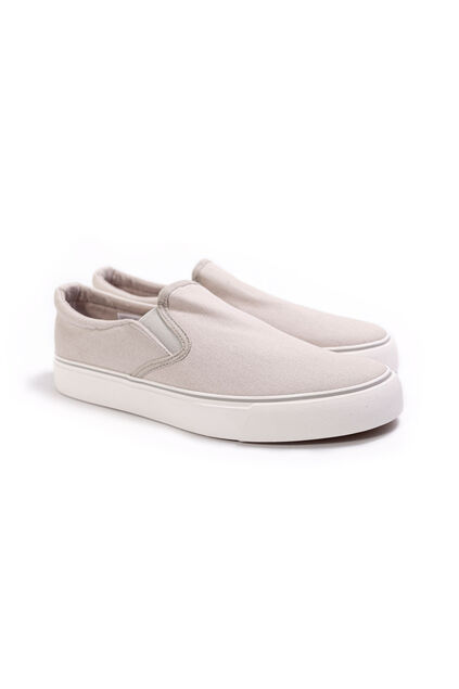Heren slip-on sneakers Beige