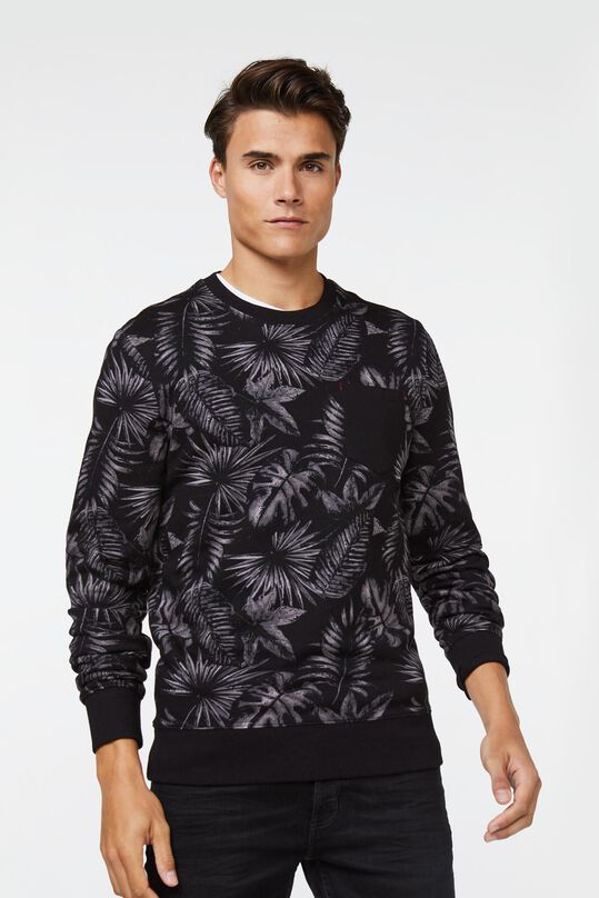 Heren dessin sweater All-over print