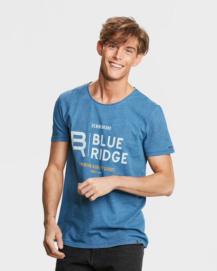 HEREN BLUE RIDGE INDIGO DYED T-SHIRT Indigo