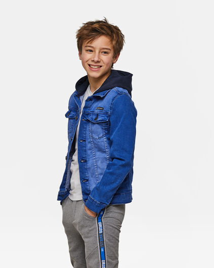 Jongens denim jacket Blauw