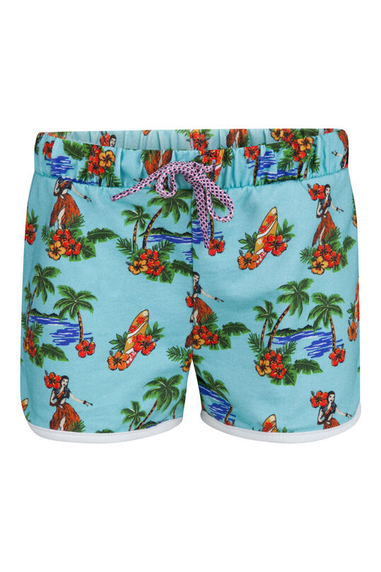 Girls Hawai short Mintgroen