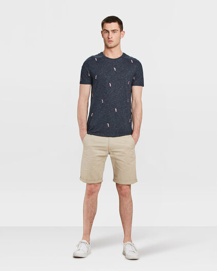 HEREN REGULAR FIT CHINO SHORT Beige