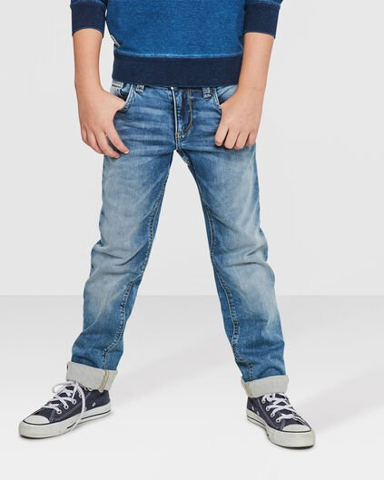 JONGENS REGULAR FIT JOG DENIM Lichtblauw